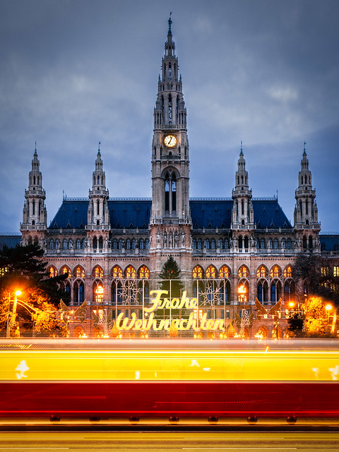 Merry Christmas from Vienna.