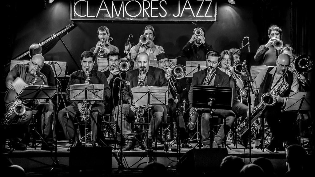 Bob Sands Big Band En La Sala Clamores Jazz Madrid Dic 20