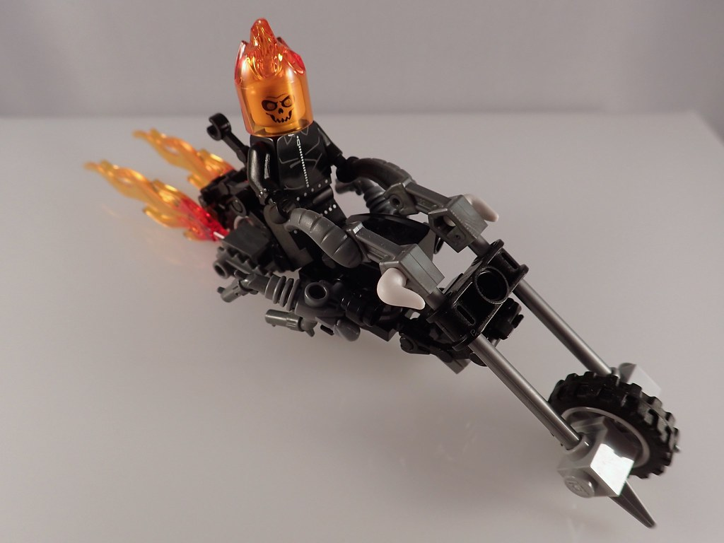 Lego Marvel Ghost Rider Motorcycle