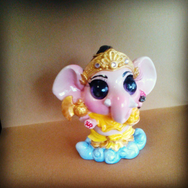 cute ganesha for the blessing of hindu gods for get succes flickr