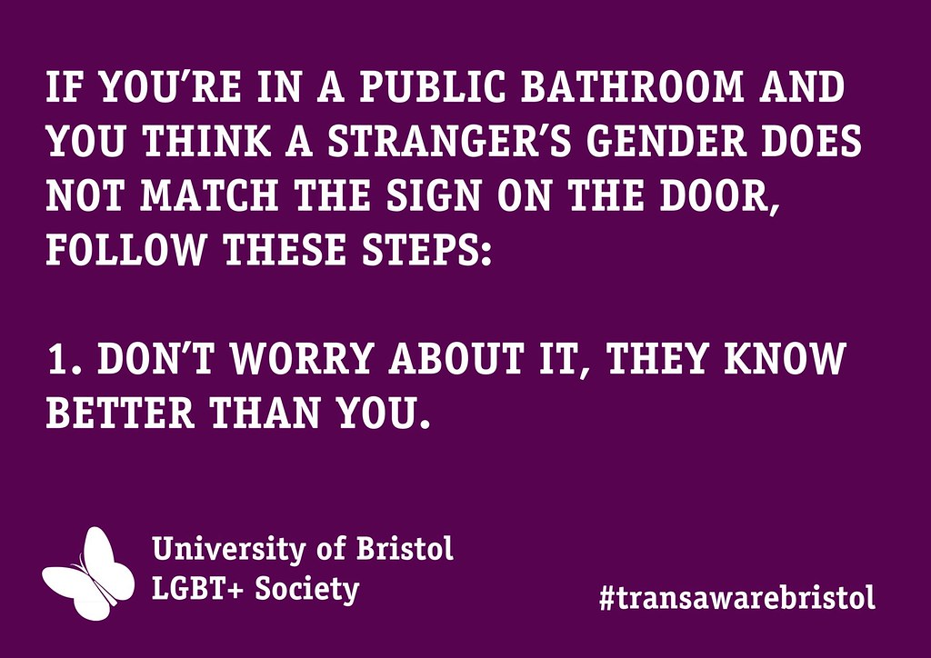 Transgender bathroom awareness poster lgbtplusbristol 5007 - Transgender discrimination bathroom ...