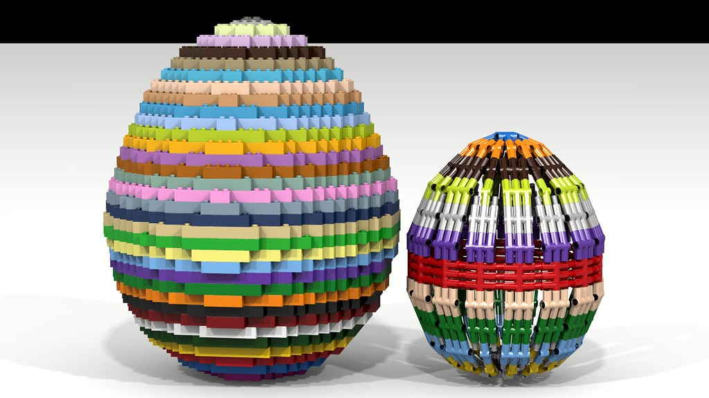 Big+Small Lego Easter Eggs | These Lego Easter Eggs can be ...