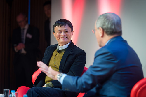 Jack Ma and Sir Martin Sorrell at GREAT Festival of Creativity | by UKTI [closed account]