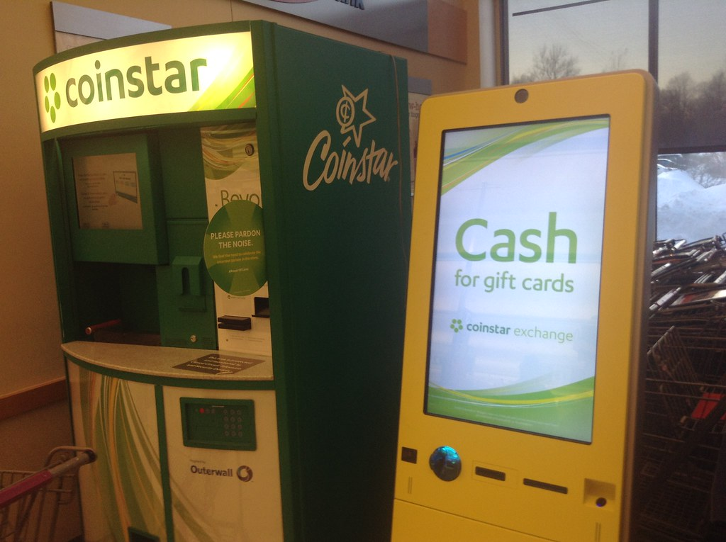Coinstar Cash for Gift Cards Machine, 5/2015, by Mike Moza… | Flickr