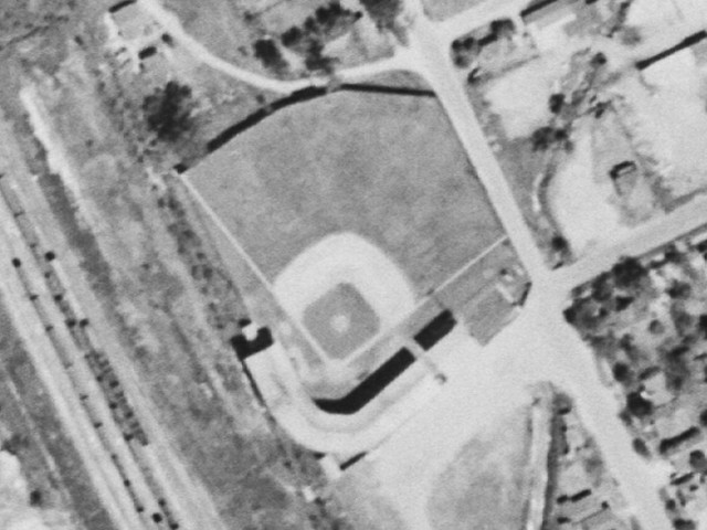 Lee Park aerial from 1953.