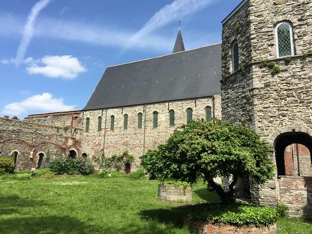 Abadía de San Bavón en Gante (Flandes, Bélgica)
