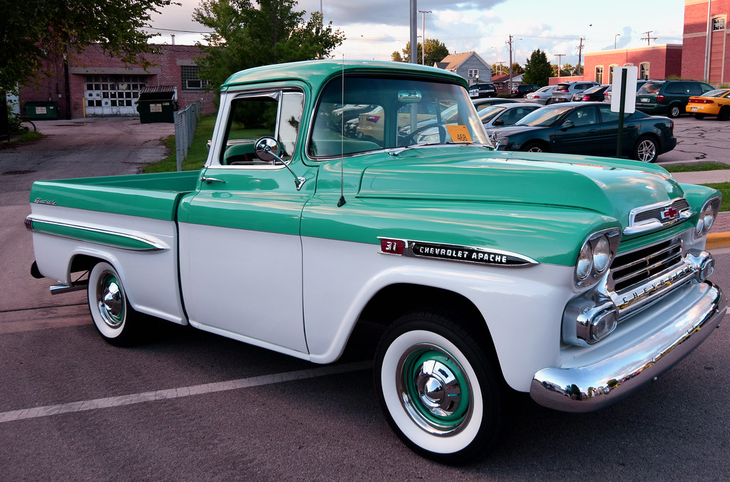New Chevy Trucks >> 59 Chevy Apache | 1959 Chevrolet Apache Pickup. Processed us… | Flickr