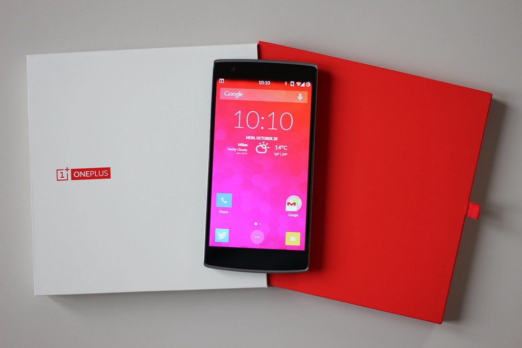OnePlus Phone With Box