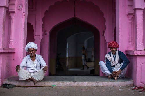 marwari men in the Pushkar mela