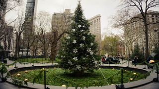 Christmastime in NYC – Christmas Tree at Madison Square Park, December, 2014 | by Jeffrey