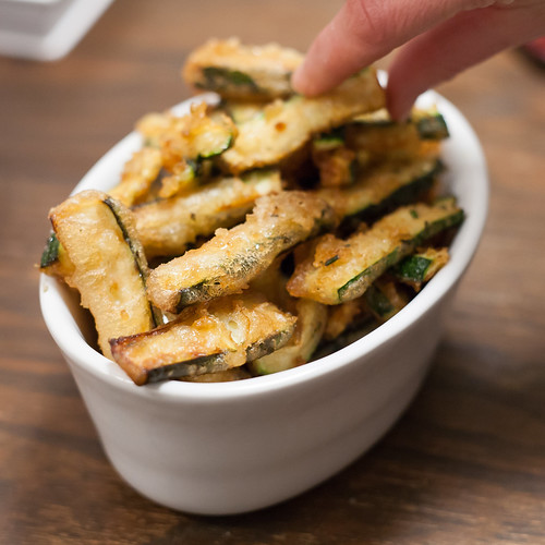 Courgette And Rosemary Rice Cake