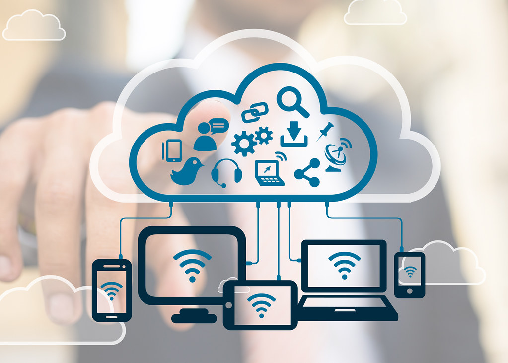 Technology Management Image: Devices In The Cloud - Technology