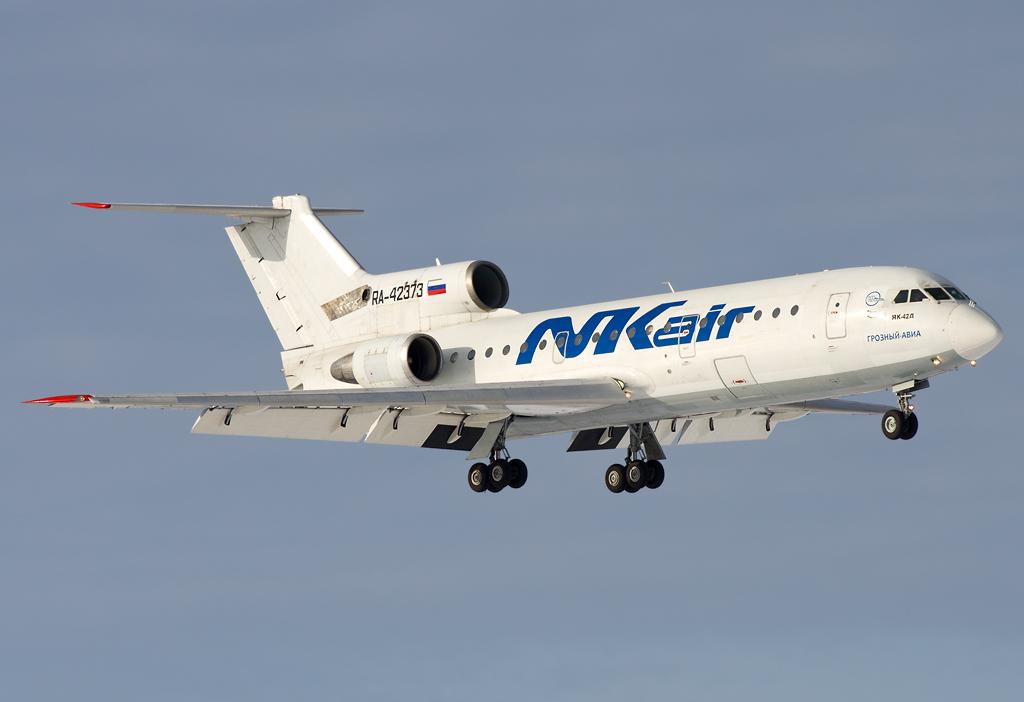 ... RA-42373 NK Air (Grozny Avia) Yakovlev Yak-42D | by Osdu