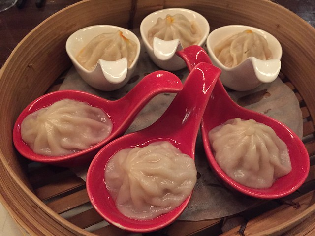 Juicy dumpling sampler - M.Y. China