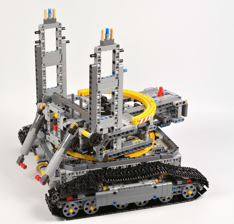 Review 42055 Bucket Wheel Excavator Brickset Lego Set Guide And