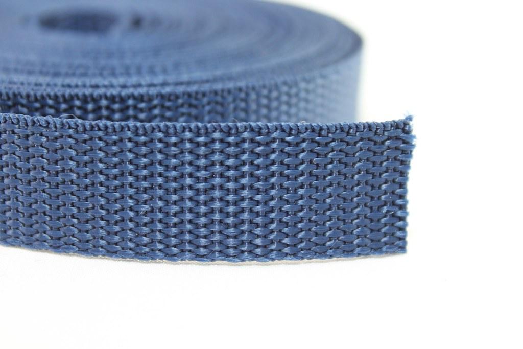 Gurtband 20mm, dunkelblau