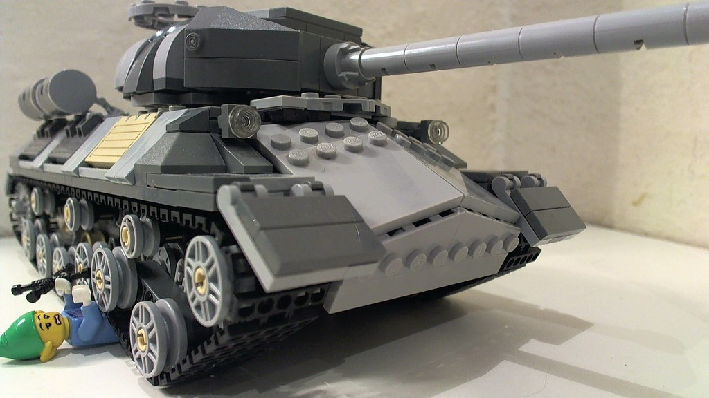 is 3 tank my attempt at a is 3 tank credits to lego 4 lif flickr. Black Bedroom Furniture Sets. Home Design Ideas