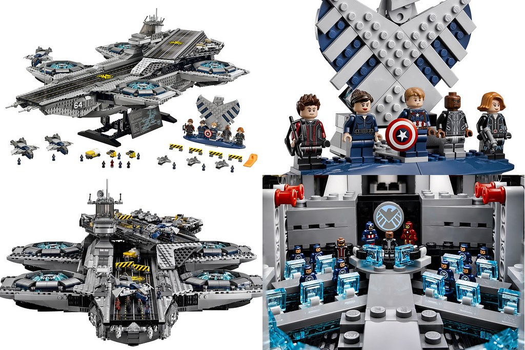LEGO 76042 - SHIELD Helicarrier | kockamania.hu | Flickr