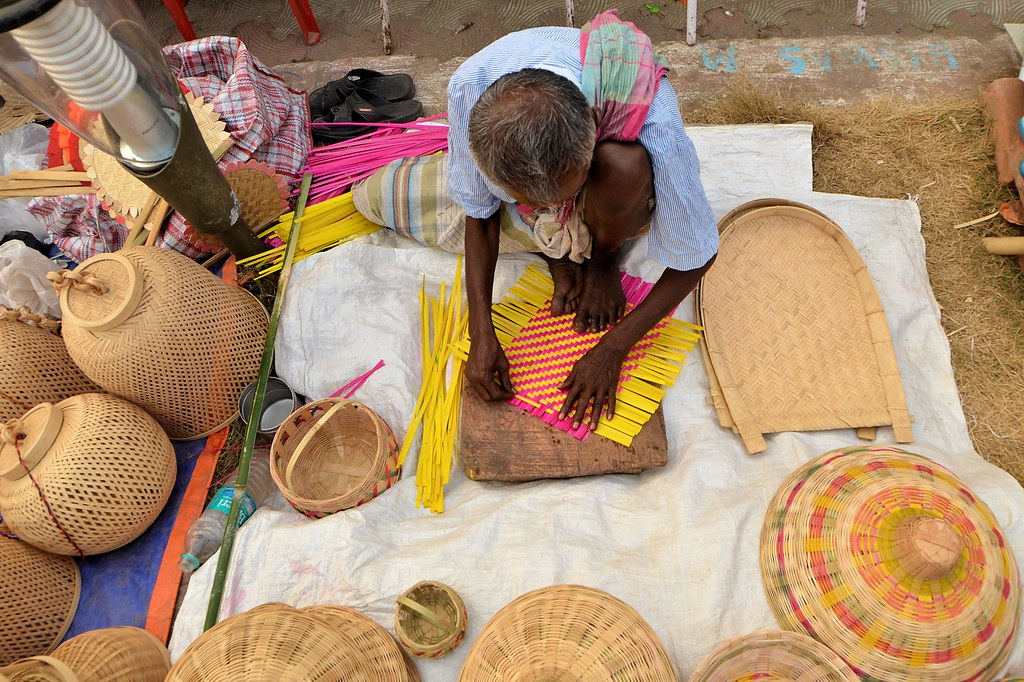 CANE AND BAMBOO CRAFT West Bengal