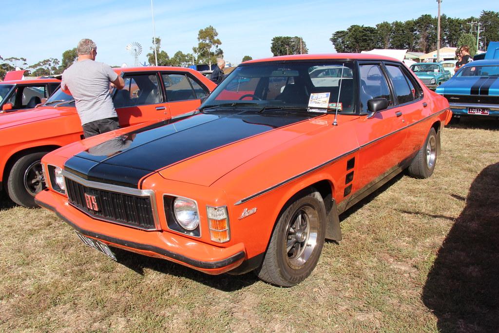 1977 Holden Hx Monaro Gts Sedan Mandarin Red The Hx