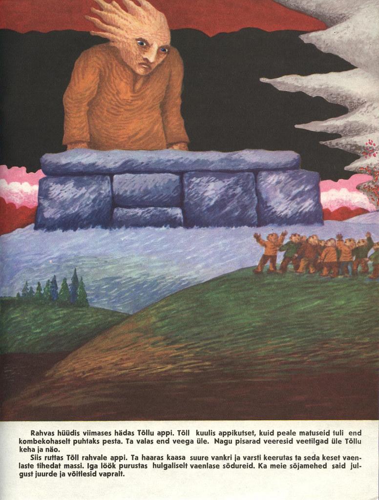 Tõll the Great - Page 16 - Written by Rein Raamat, Illustrated by Jüri Arrak, 1982