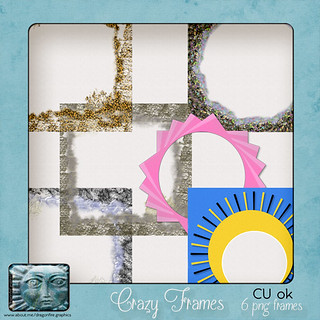 crazy frames preview | by Dragonfire Graphics