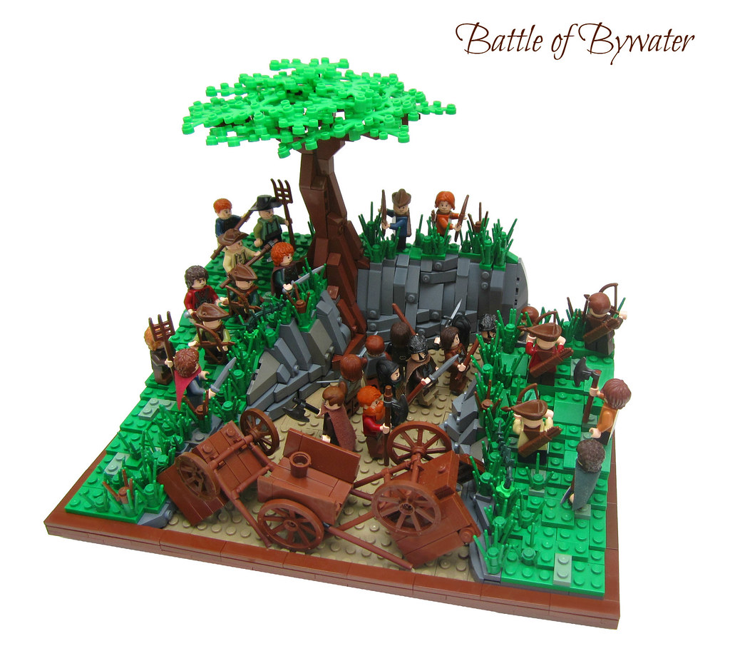 Lord Of The Rings Battle Of Bywater The Battle Of