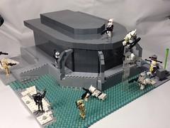 Lego Star Wars battlefront: galactic conquest Rhen Var (1) by KaminoKingdom
