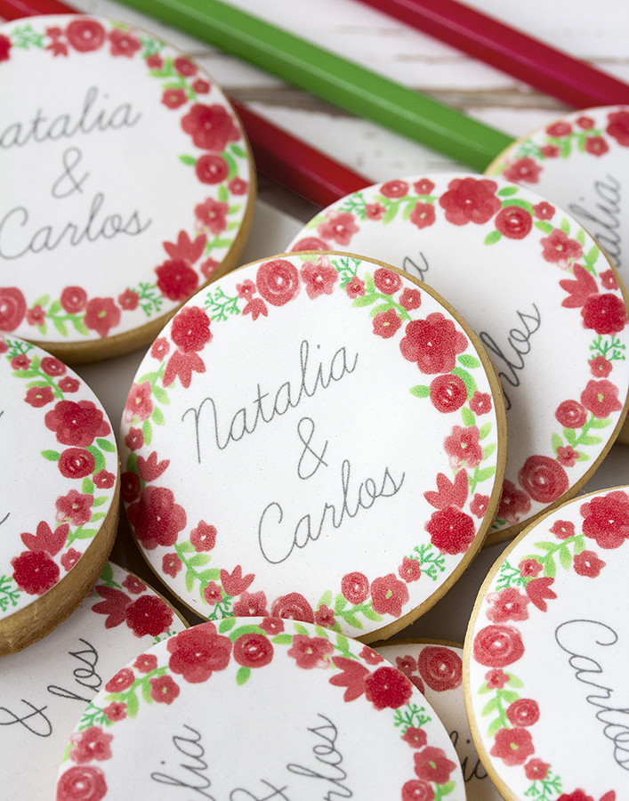 Papel de azúcar boda