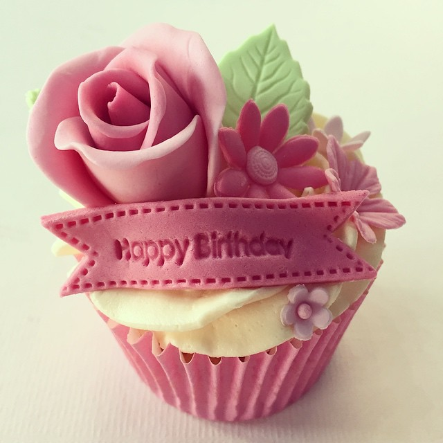 Pretty Pink Birthday Cakes