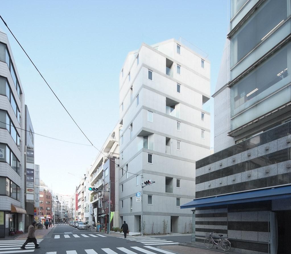 Apartments In Tokyo: APARTMENT IN OKACHIMACHI: Go Hasegawa+Hirofumi Ohno, Tokyo