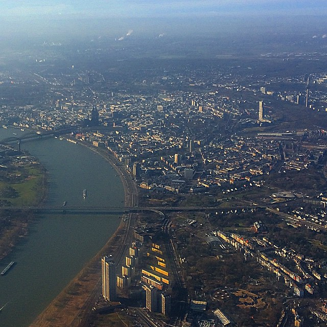by koln von oben colonia desde arriba cologne from above by