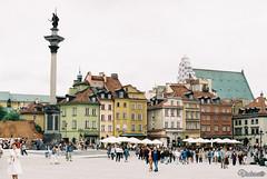 Plac Zamkowy. Warsaw. Poland