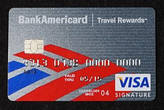 chip enabled bank of america bankamericard visa signature credit card by aranami - Visa Signature Credit Card