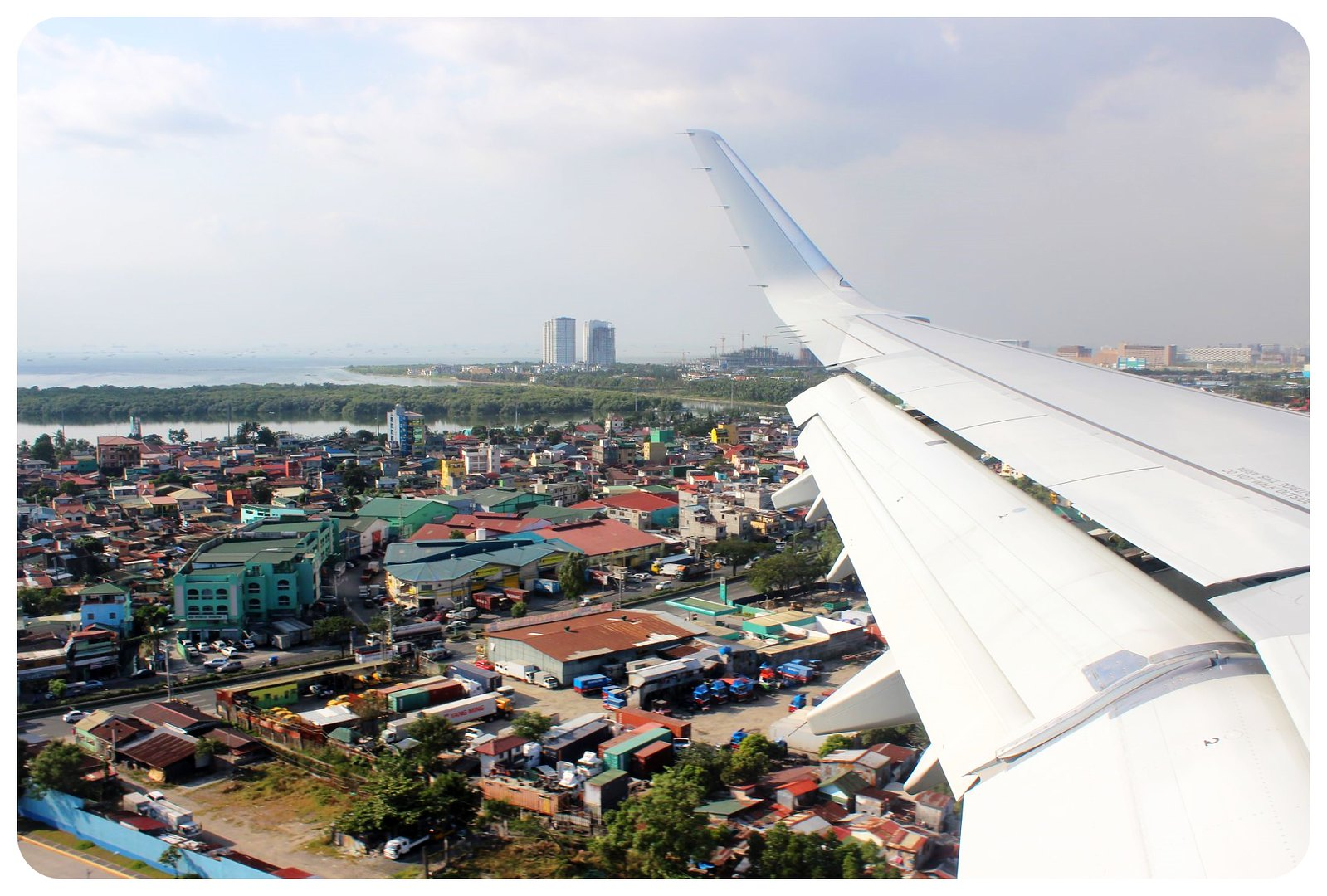 flying into manila philippines