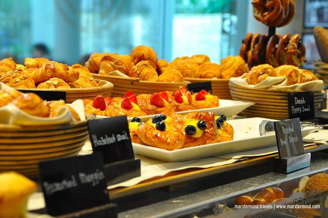 Desserts at Signatures Restaurant Hotel Indonesia