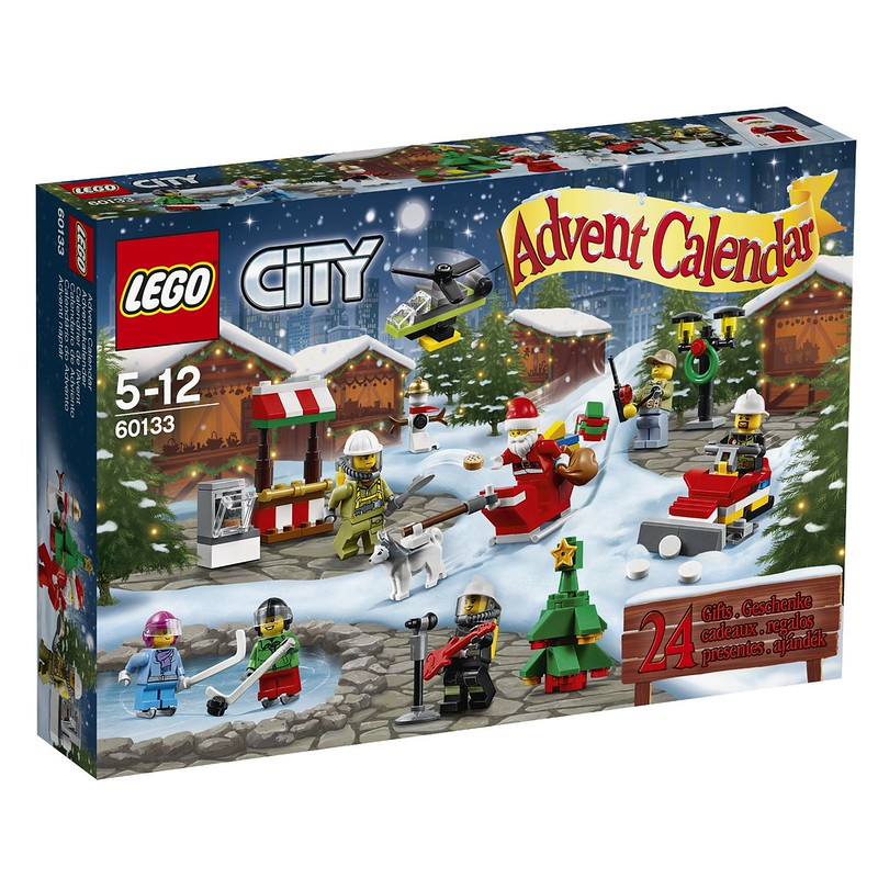 LEGO Advent Calendars 2016: City 60133