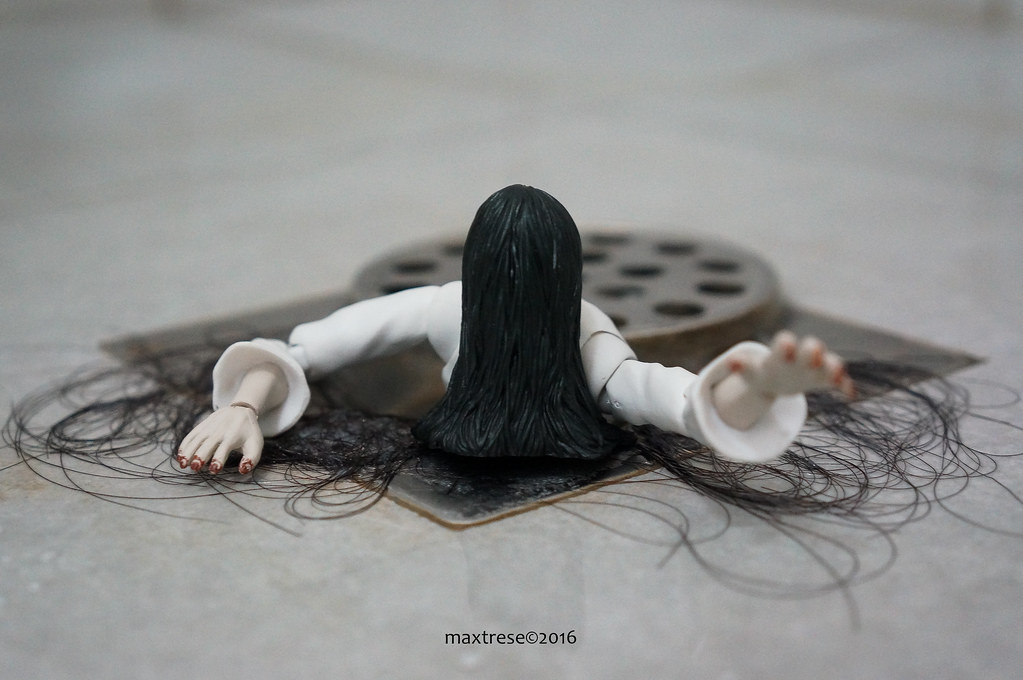 Sadako of the movie The Ring by SHF Bandai