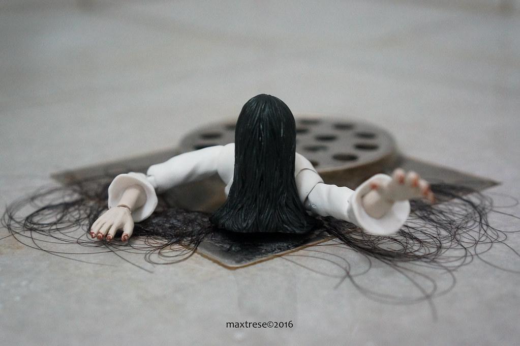 Sadako of the movie The Ring by SHF Bandai