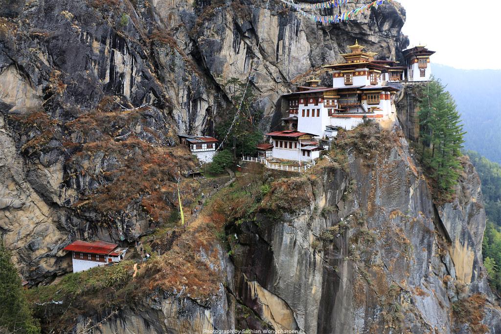 The Taktshang Goemba (Tiger's Nest monastery)