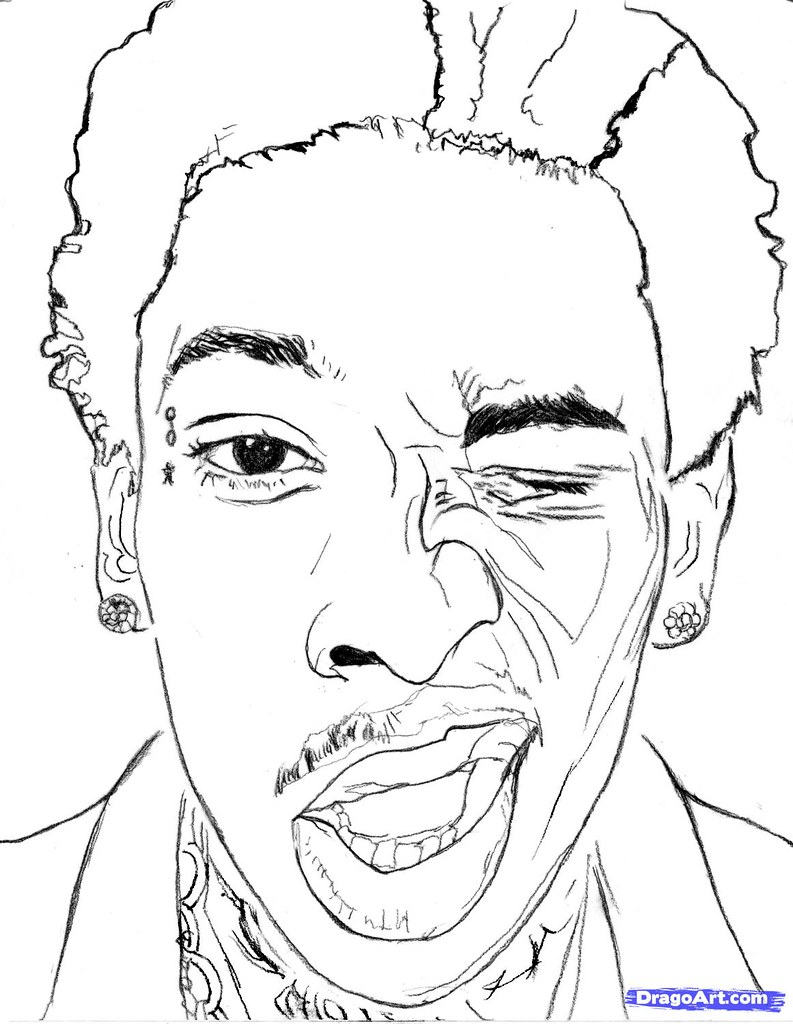 snoop dogg coloring pages | how-to-draw-wiz-khalifa-wiz-khalifa-step-10_1_000000145953 ...