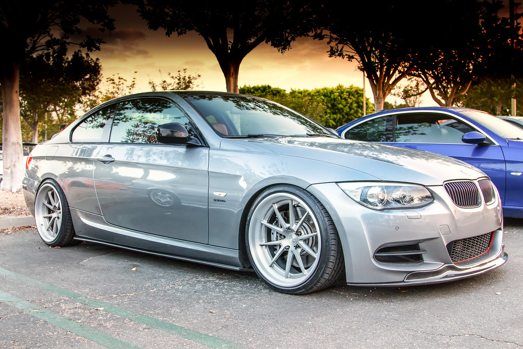 Coffee And Cars >> BMW 335is on RSV Forged Wheels | Take at Irvine Cars and ...