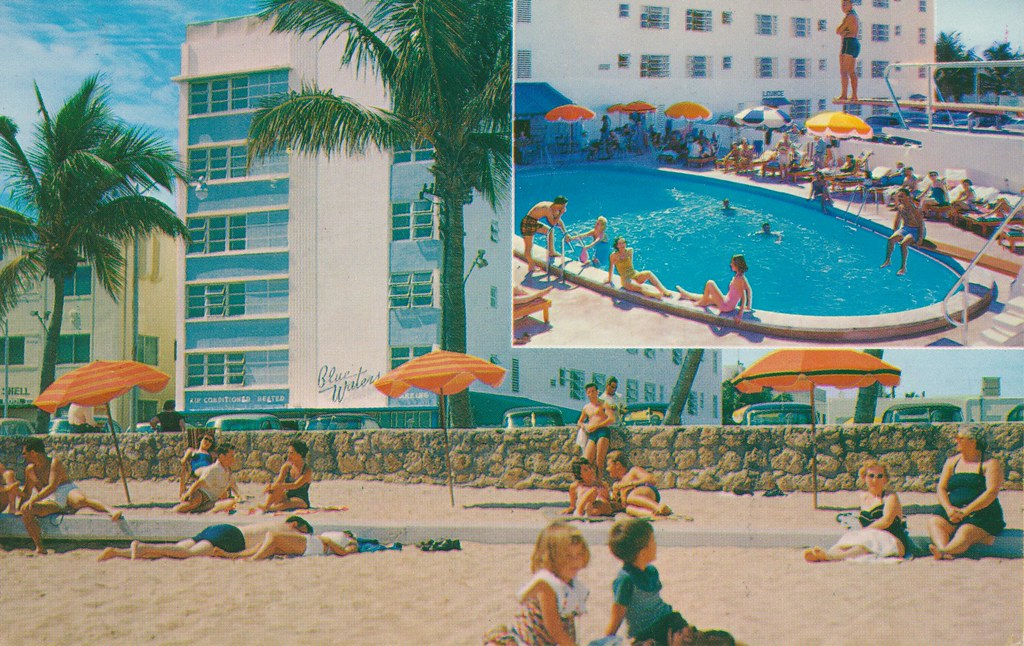 Blue Waters Hotel - Miami Beach, Florida