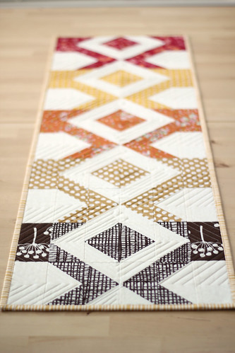 Fall Table Runner | by frommartawithlove