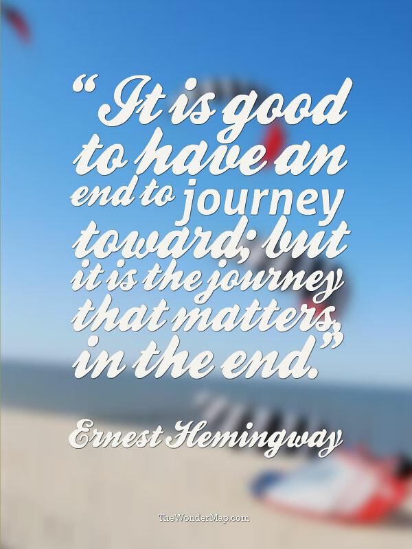 Traveling Quote By Ernest Hemingway Ernest Hemingway Once Flickr