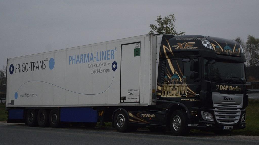 Liner Ldpe Pharmaceutic : D frigo trans pharma liner daf xf ssc berlin flickr