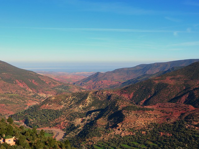 View from Tizi n'Tichka pass, day trip to ouarzazate and ait benhaddou, morocco day trips