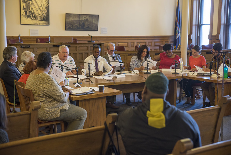 The Citizen Review Board meets monthly inside the Common Council Chambers at City Hall. | Ben Cleeton, Staff Photo