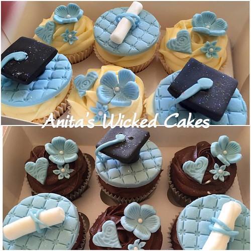Graduation cake /cupcakes