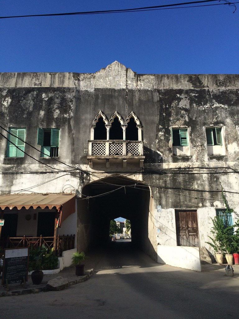 Through the doors and arches of Zanzibar